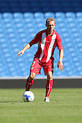 Michael Krohn-Dehli of Sevilla during the Pre-Season Friendly match between Brighton and Hove Albion and Sevilla at the American Express Community Stadium, Brighton and Hove, England on 2 August 2015. Photo by Stuart Butcher.