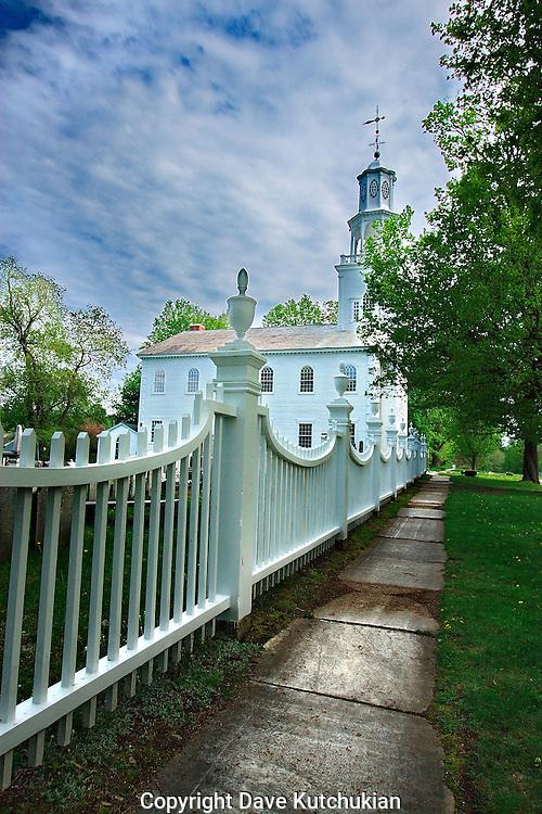 OLD FIRST CHURCH, BENNINGTON,VT SPRING