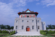 Juguang Tower, Juincheng, Kinmen. The tower was built as a military memorial.