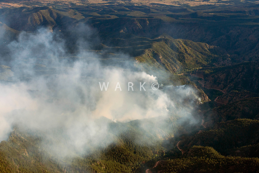 Eight Mile Fire near Canon City, CO. June 27, 2014