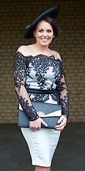LIVERPOOL, ENGLAND - Friday, April 4, 2014: Toni Fitzjohn of Skelmersdale during Ladies' Day on Day Two of the Aintree Grand National Festival at Aintree Racecourse. (Pic by David Rawcliffe/Propaganda)