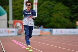 04/08/2017; Training at 2017 World Para Athletics Junior Championships, Nottwil, Switzerland
