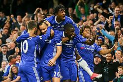 Chelsea celebrate John Terry of Chelsea goal, Chelsea 1-0 Watford - Mandatory by-line: Jason Brown/JMP - 15/05/2017 - FOOTBALL - Stamford Bridge - London, England - Chelsea v Watford - Premier League