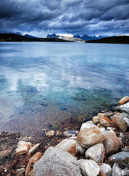 Norway - Nordland - Tysfjorden - Storm