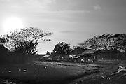 View of some houses at Dala township. At Dala, Yangon Division, Myanmar, 16th February, 2014.