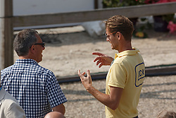 Ernes Wim, Gal Edward,  (NED)<br /> Roelofsen Horse Trucks Prijs - Juniors Team Test<br /> Dutch Championship Dressage - Ermelo 2015<br /> © Hippo Foto - Dirk Caremans<br /> 17/07/15