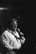Jim Michaels at the Dick and Matt Pack karaoke party, Salute to Supernatural Las Vegas 2014