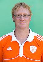 UTRECHT - Bondscoach Bas Bruin , Nederlands Hockeyteam Jongens A. COPYRIGHT KOEN SUYK
