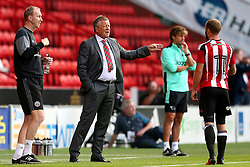 Chris Wilder manager of Sheffield United  - Mandatory by-line: Matt McNulty/JMP - 27/07/2016 - FOOTBALL - Bramall Lane - Sheffield, England - Sheffield United v Derby County - Pre-season friendly