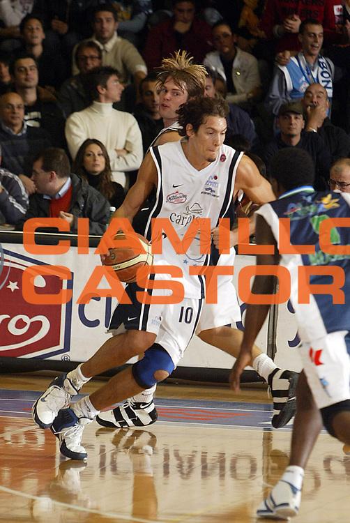 DESCRIZIONE : Napoli Lega A1 2005-06 Carpisa Napoli Basket-Roseto Basket<br /> GIOCATORE : Cittadini<br /> SQUADRA : Carpisa Napoli Basket<br /> EVENTO : Campionato Lega A1 2005-2006<br /> GARA : Carpisa Napoli Basket Roseto Basket<br /> DATA : 20/11/2005 <br /> CATEGORIA : <br /> SPORT : Pallacanestro <br /> AUTORE : Agenzia Ciamillo-Castoria/E.Castoria