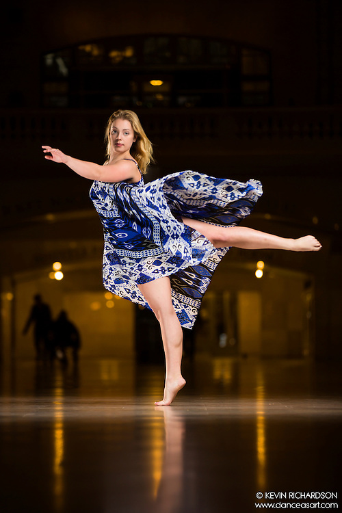 Dance As Art The New York Photography Project Grand Central Series with Taylor Gerrasch