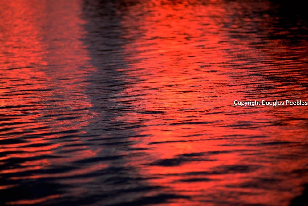 Sunset on ocean<br />
