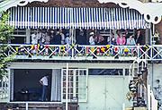 Henley on Thames,  United Kingdom, 1987 Henley Royal Regatta, Henley Reach, Thames Valley, British Summertime.<br /> [Mandatory Credit, Peter SPURRIER/Intersport Images] <br /> <br /> Scans from Positives, March 2019