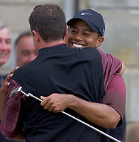 Golf, 2005 Open Championship, St. Andrews.<br />