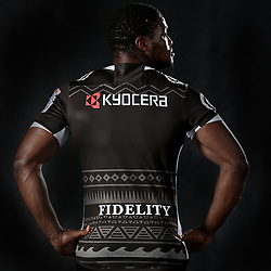 DURBAN, SOUTH AFRICA, December 3 2015 - Sibusiso Sithole during The Cell C Sharks Official Launch and unveiling of The Cell C Sharks Super Rugby Jersey at Growthpoint Kings Park in Durban, South Africa.Royalty Free Images<br /> THE CELL C SHARKS