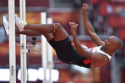 28-08-2015 CHN: IAAF World Championships Athletics day 7, Beijing<br /> High jump Decathlon / Damian Warner CAN<br /> Photo by Ronald Hoogendoorn / Sportida