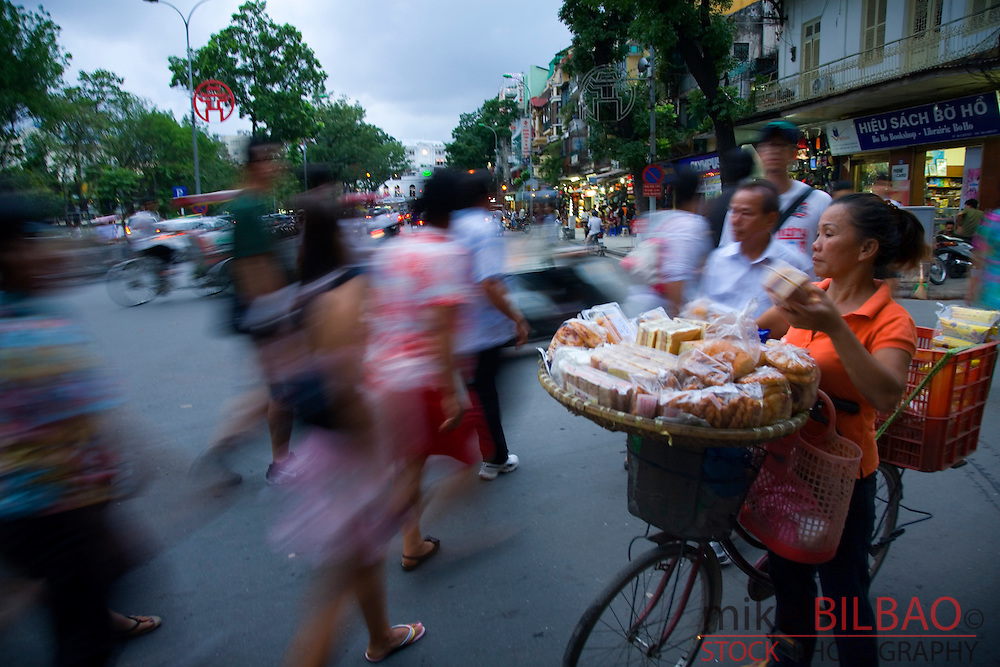 peddler in the street.<br />