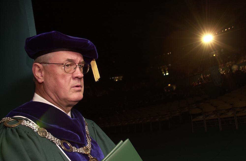 14893Undergraduate Commencement 2001