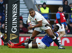 February 10, 2019 - London, England, United Kingdom - Kyle Sinckler of England     .during the Guiness 6 Nations Rugby match between England and France at Twickenham  Stadium on February 10th, 2019 in Twickenham, London, England. (Credit Image: © Action Foto Sport/NurPhoto via ZUMA Press)