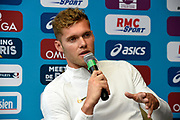 Kevin Mayer (FRA) during press conference of Meeting de Paris 2018, Diamond League, at Hotel Marriott, in Paris, France, on June 29, 2018 - Photo Jean-Marie Hervio / KMSP / ProSportsImages / DPPI