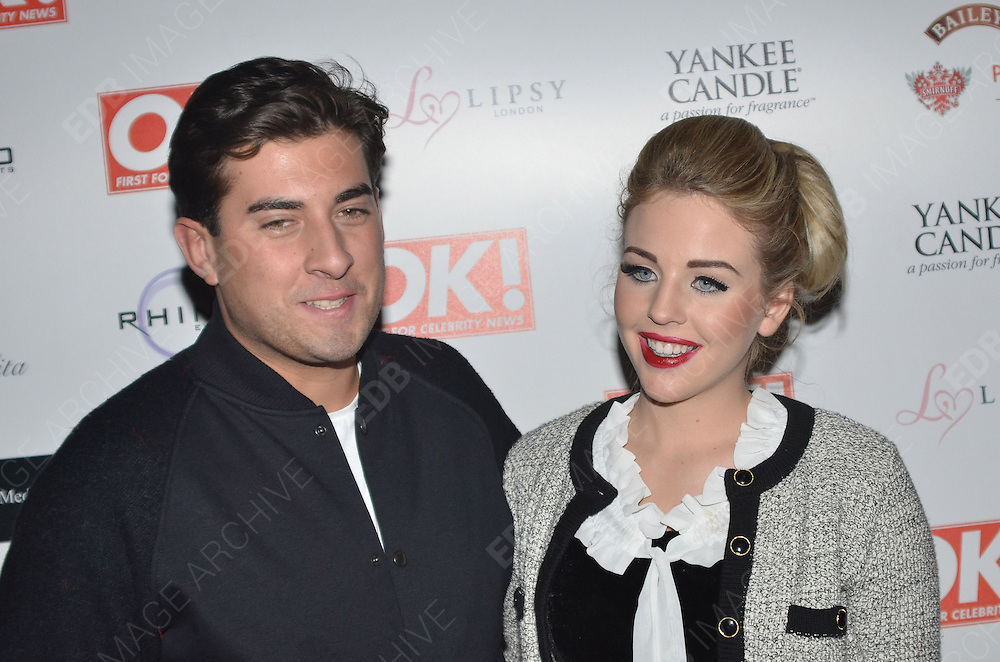29.NOVEMBER.2011. LONDON<br /> <br /> JAMES ARGENT AND LYDIA ROSE BRIGHT ATTENDING THE OK MAGAZINE PARTY AT FLORIDITA IN SOHO, LONDON<br /> <br /> BYLINE: EDBIMAGEARCHIVE.COM<br /> <br /> *THIS IMAGE IS STRICTLY FOR UK NEWSPAPERS AND MAGAZINES ONLY*<br /> *FOR WORLD WIDE SALES AND WEB USE PLEASE CONTACT EDBIMAGEARCHIVE - 0208 954 5968*