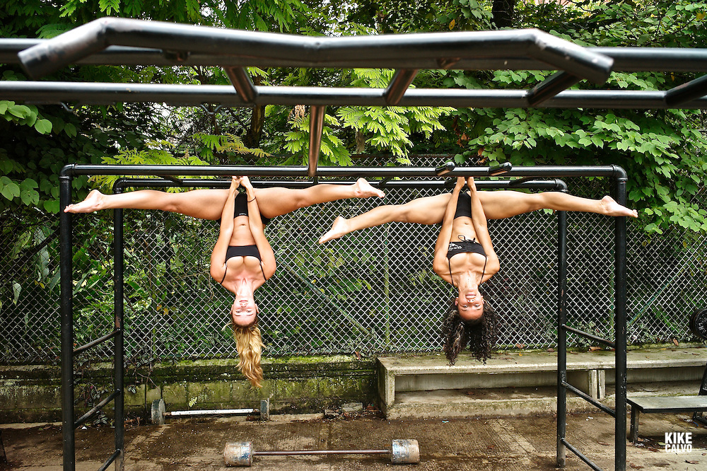 Pole dance is becoming popular in gyms and studios around Latin America. Pin Up Girls Medellin studio is a good example on how latin women get fit with this new form of performing art, a combination of dance and gymnastics, previouly known only in strip clubs. Kelly Alvarez, Colombian Champion 2011 with Ana Correa..