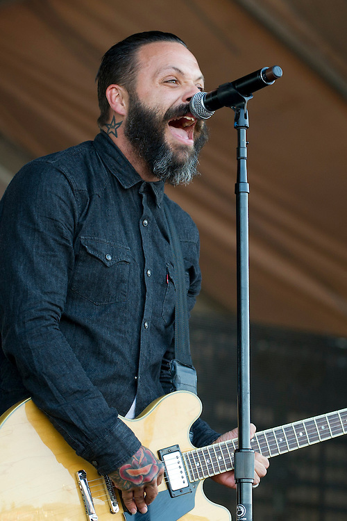 Blue October performs at Suburbia Fest in Plano, Texas on May 4, 2014.
