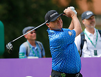 Golf - 2019 Senior Open Championship at Royal Lytham & St Annes - First Round <br /> <br /> Paul Lawrie (SCO) plays his drive off the 2nd tee.<br /> <br /> COLORSPORT/ALAN MARTIN
