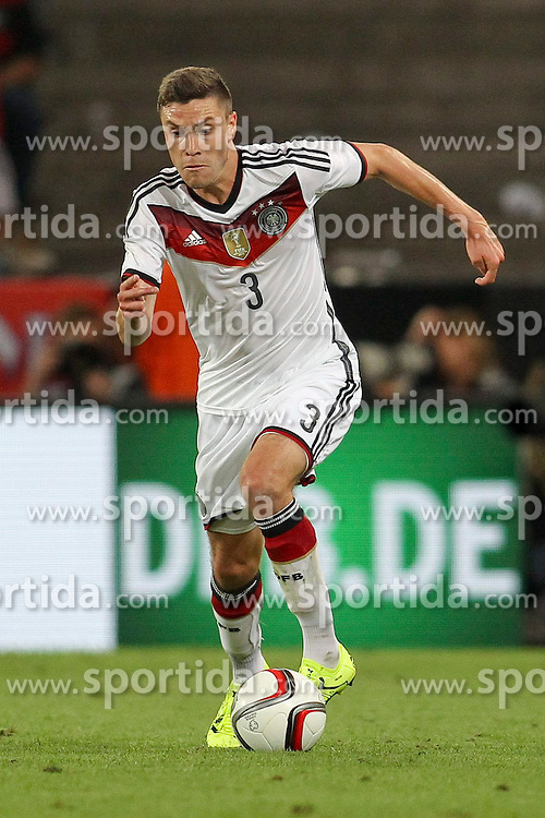 10.06.2015, RheinEnergie Stadion, Koeln, GER, FS Vorbereitung, Testspiel, Deutschland vs USA, im Bild Jonas Hector (1. FC Koeln) // during the international friendly football match between Germany and USA at the RheinEnergie Stadion in Koeln, Germany on 2015/06/10. EXPA Pictures &copy; 2015, PhotoCredit: EXPA/ Eibner-Pressefoto/ Schueler - Pressefoto<br /> <br /> *****ATTENTION - OUT of GER*****