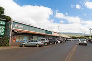The Saturday Farmers' Market in Kaunakakai, Molokai, Hawaii, USA
