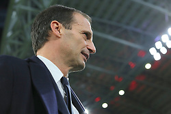 November 26, 2017 - Turin, Piedmont, Italy - Massimiliano Allegri, head coach of Juventus FC,  before the Serie A football match between Juventus FC and FC Crotone at Allianz Stadium on 26 November, 2017 in Turin, Italy. (Credit Image: © Massimiliano Ferraro/NurPhoto via ZUMA Press)