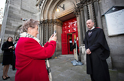 Repro Free: 22 November 2013<br /> Colm Moore from Teranure has his picture taken by his proud mother Rita as he graduated with a LLB Honours in Irish Law at the Independent College Dublin Conferring Ceramony 2013 in St Ann's Church Dawson Street. Picture Andres Poveda