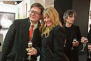DARREN COFFIELD; GERALDINE SWAYNE, Preview for the London Art Fair,  Islington Business Design Centre. London. 13 January 2014
