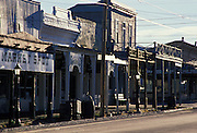 Early morning finds historic Allen Street deserted, Tombstone, Arizona. ©1989 Edward McCain, All Rights Reserved, McCain Photography 520-623-1998