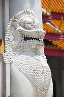 Lion guard Wat Benchamabophit Temple Thailand&#xA;<br />