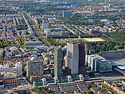 Nederland, Zuid-Holland, Den Haag, 14-09-2019; zicht centrum van de stad met onder andere aan de Schedeldoekshaven de Ministeries van Binnenlandse zaken en Buitenlandse zaken.<br /> Center of the city including Ministries of Internal Affairs and Foreign Affairs.<br /> luchtfoto (toeslag op standard tarieven);<br /> aerial photo (additional fee required);<br /> copyright foto/photo Siebe Swart