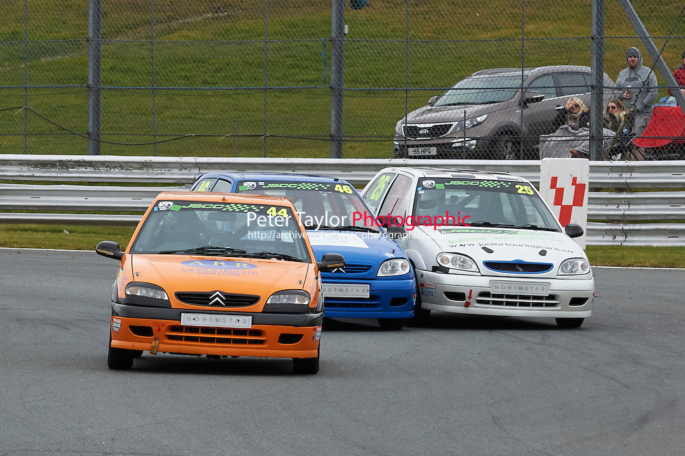 #44 George SUTTON Citroen Saxo VTR 1600 during Junior Saloon Car Championship as part of the BARC NW - Championship Raceday  at Oulton Park, Little Budworth, Cheshire, United Kingdom. March 19 2016. World Copyright Peter Taylor/PSP. Copy of publication required for printed pictures.  Every used picture is fee-liable. http://archive.petertaylor-photographic.co.uk