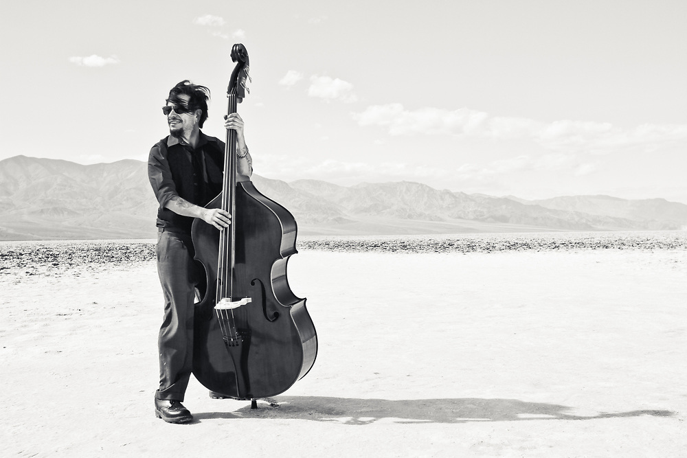 Terry Luna, in Death Valley.