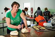 Verbicaro, Italia - 4 giugno 2011. Vera Caracciolo, 52 anni, vedova. Bracciante agricola in nero. Per sei euro all'ora accudisce gli anziani..Ph. Roberto Salomone Ag. Controluce