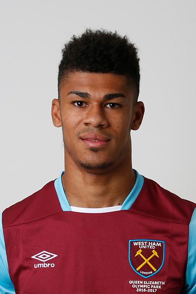 LONDON, ENGLAND - AUGUST 06: Ashley Fletcher of West Ham poses during a Premier League portrait session on August 6, 2016 in London, England. (Photo by Tom Shaw/Getty Images)