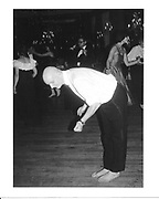 Justin Frewen at the Cinderella Ball. Dorchester. 1983. © Copyright Photograph by Dafydd Jones 66 Stockwell Park Rd. London SW9 0DA Tel 020 7733 0108 www.dafjones.com