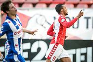 20-05-2017: Voetbal: FC Utrecht v SC Heerenveen: Utrecht<br /> <br /> (L-R) FC Utrecht speler Richairo Zivkovic heeft de 2-0 gescoord tijdens het Eredivisie duel tussen FC Utrecht en Heerenveen op 20 mei 2017 in stadion Galgenwaard tijdens 1/2 finale play-offs <br /> <br /> 1/2 finale Play-offs, Eredivisie - Seizoen 2016 / 2017<br /> <br /> Foto: Gertjan Kooij