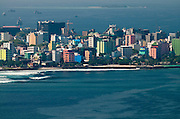 The Capital of Male, Maldives.