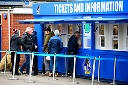 Ticket collection at the memorial stadium  - Mandatory by-line: Dougie Allward/JMP - 07/12/2019 - FOOTBALL - Memorial Stadium - Bristol, England - Bristol Rovers v Southend United - Sky Bet League One