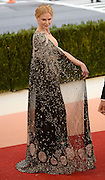May 3, 2016 - New York City, NY, USA - <br /> <br />  Nicole Kidman  arriving at the ''Manus x Machina: Fashion in the Age of Technology'', The Costume Institute of The Metropolitan Museum of Art Gala 2016<br /> ©Exclusivepix Media