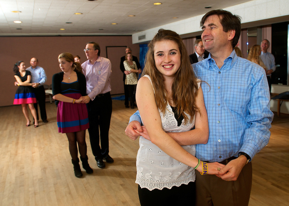 Father Daughter Dance at Chevy Chase Ballroom on March 11, 2011. (Photos by Alan Lessig Photography)