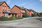 Modern suburban housing, Martlesham Heath, Ipswich, Suffolk, England