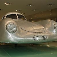 Porsche Type 64, new body recreation at the Porsche Museum in Stuttgart, Germany, 2014
