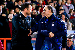 Derby County manager Frank Lampard and Nottingham Forest manager Martin O'Neill shake hands - Mandatory by-line: Robbie Stephenson/JMP - 25/02/2019 - FOOTBALL - The City Ground - Nottingham, England - Nottingham Forest v Derby County - Sky Bet Championship