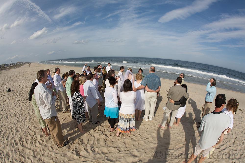 Rob and Karen Wedding Beach